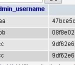 SQL:เปลี่ยน password เป็น MD5 ในครั้งเดียว